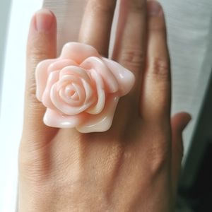 Juicy Couture rose ring size 7.5